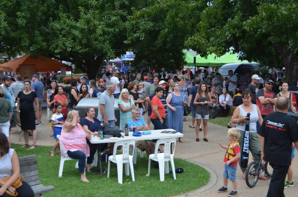 The Myrtleford Festival Street Party