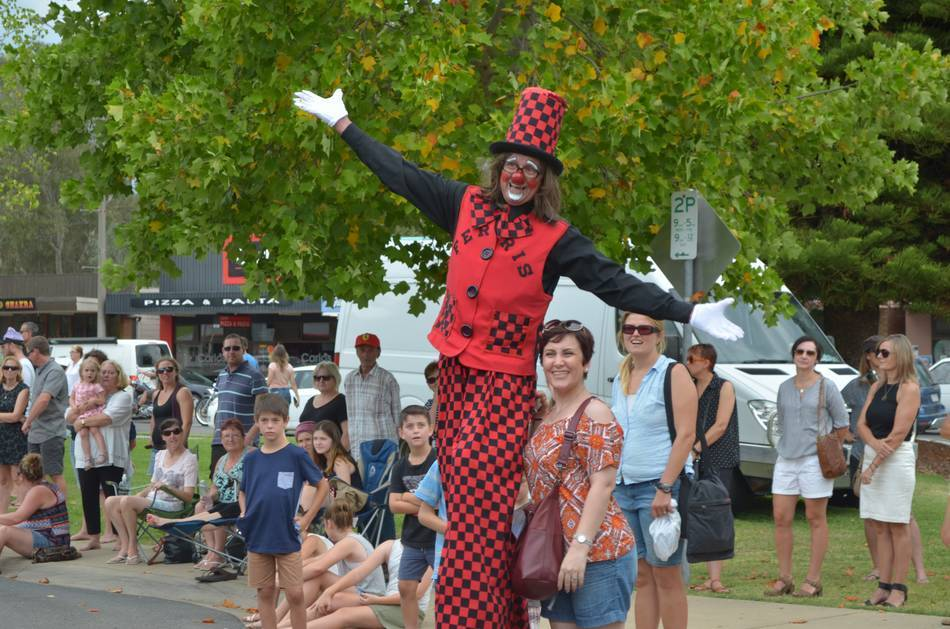 The Myrtleford Festival - Festival Launch -  Party in the Piazza