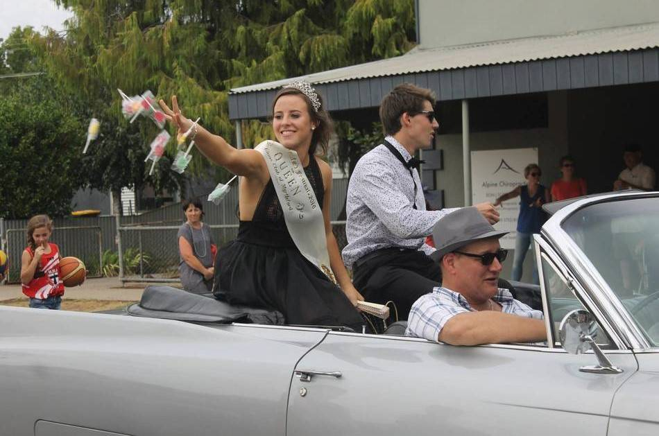 The Myrtleford Festival - This Years Princesses